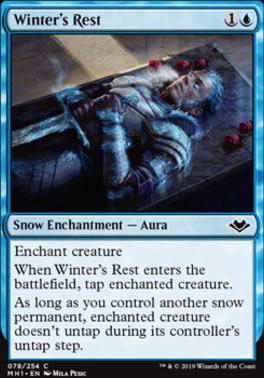 Modern Horizons: Winter's Rest