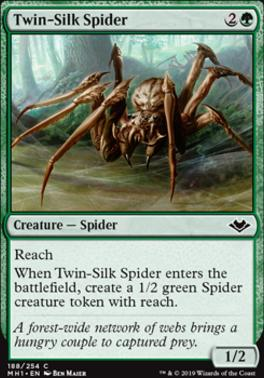 Modern Horizons Foil: Twin-Silk Spider