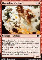 Modern Horizons Foil: Quakefoot Cyclops