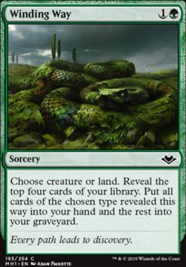 Modern Horizons: Winding Way
