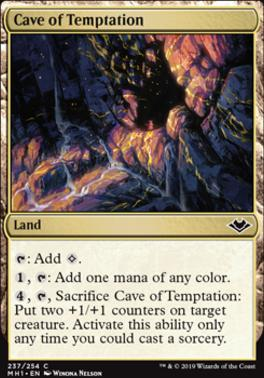 Modern Horizons Foil: Cave of Temptation