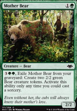 Modern Horizons: Mother Bear
