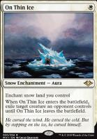 Modern Horizons: On Thin Ice