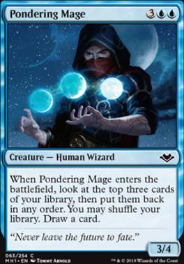 Modern Horizons Foil: Pondering Mage