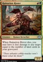 Modern Horizons Foil: Ruination Rioter