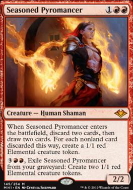 Modern Horizons: Seasoned Pyromancer