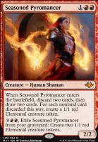 Modern Horizons Foil: Seasoned Pyromancer