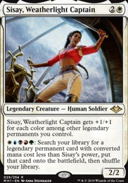 Modern Horizons: Sisay, Weatherlight Captain
