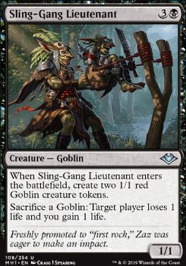 Modern Horizons: Sling-Gang Lieutenant