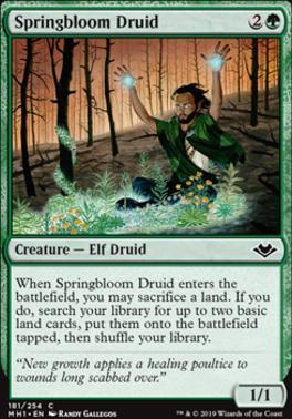 Modern Horizons: Springbloom Druid