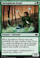 Modern Horizons Foil: Springbloom Druid
