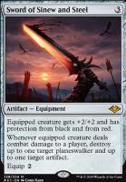 Modern Horizons Foil: Sword of Sinew and Steel