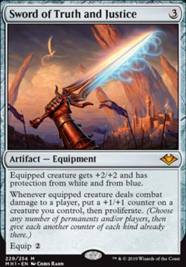 Modern Horizons: Sword of Truth and Justice