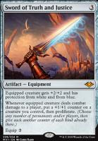 Modern Horizons Foil: Sword of Truth and Justice