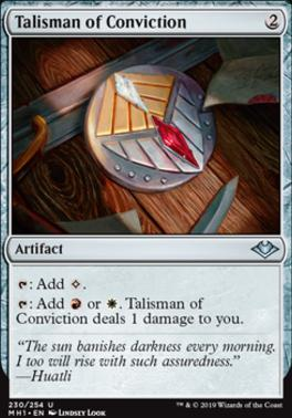 Modern Horizons: Talisman of Conviction