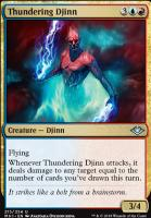 Modern Horizons Foil: Thundering Djinn