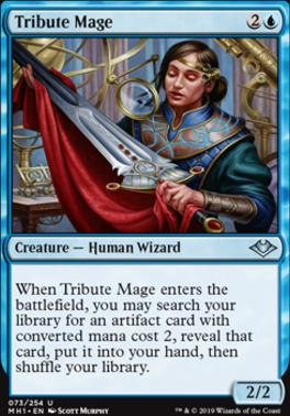 Modern Horizons Foil: Tribute Mage