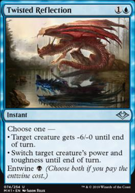 Modern Horizons: Twisted Reflection