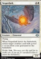 Modern Horizons Foil: Vesperlark