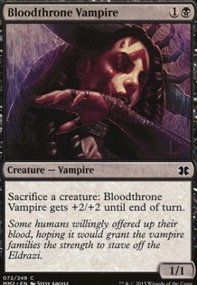 Modern Masters 2015 Foil: Bloodthrone Vampire
