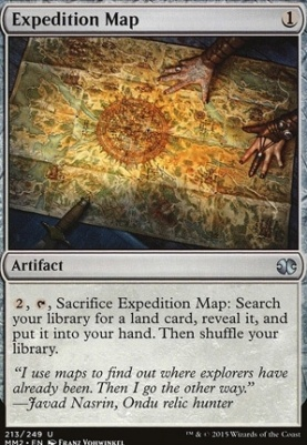 Modern Masters 2015: Expedition Map