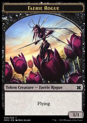 Modern Masters 2015: Faerie Rogue Token