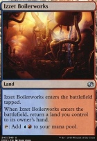 Modern Masters 2015 Foil: Izzet Boilerworks