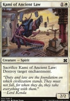 Modern Masters 2015: Kami of Ancient Law