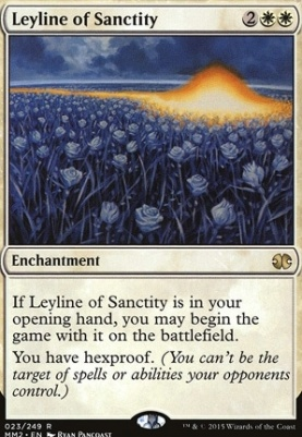 Modern Masters 2015: Leyline of Sanctity