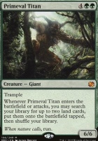 Modern Masters 2015 Foil: Primeval Titan