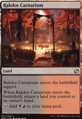 Modern Masters 2015: Rakdos Carnarium