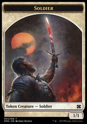 Modern Masters 2015: Soldier Token