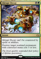 Modern Masters 2017 Foil: Abrupt Decay