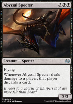 Modern Masters 2017 Foil: Abyssal Specter