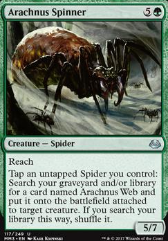 Modern Masters 2017 Foil: Arachnus Spinner