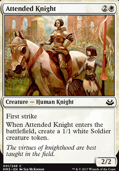 Modern Masters 2017: Attended Knight