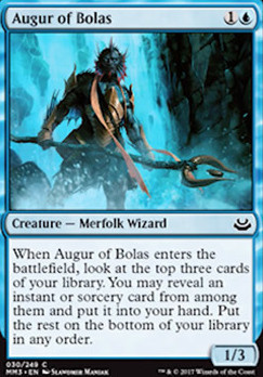 Modern Masters 2017 Foil: Augur of Bolas