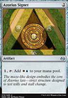 Modern Masters 2017 Foil: Azorius Signet