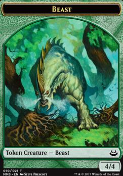 Modern Masters 2017: Beast Token (Prescott)