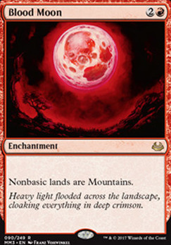 Modern Masters 2017 Foil: Blood Moon