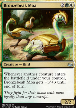 Modern Masters 2017 Foil: Bronzebeak Moa