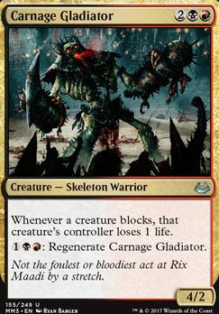 Modern Masters 2017: Carnage Gladiator