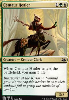 Modern Masters 2017 Foil: Centaur Healer