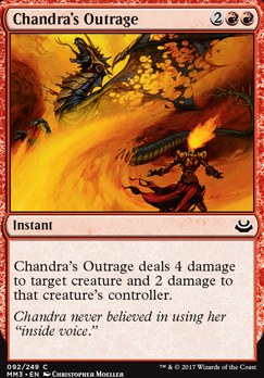 Modern Masters 2017 Foil: Chandra's Outrage