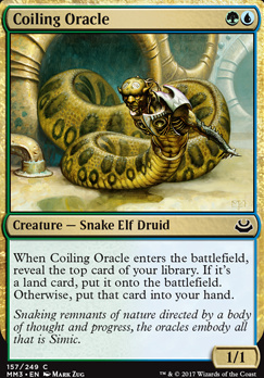 Modern Masters 2017: Coiling Oracle
