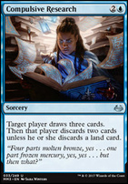 Modern Masters 2017 Foil: Compulsive Research
