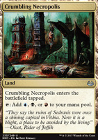 Modern Masters 2017 Foil: Crumbling Necropolis