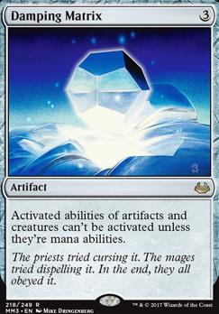 Modern Masters 2017 Foil: Damping Matrix