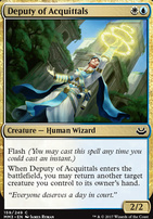 Modern Masters 2017 Foil: Deputy of Acquittals