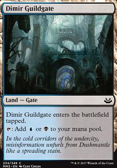 Modern Masters 2017 Foil: Dimir Guildgate